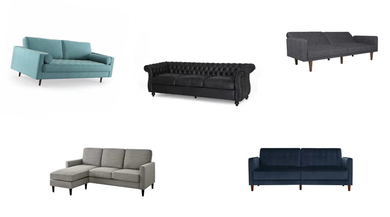 Exquisite Lounging: 5 Sofas That Will Improve the Feel of Your Home